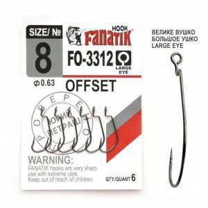 Офсетный крючок FANATIK FO-3312-XL