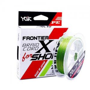 Шнур плетеный YGK Frontier Braid Cord X8 for Shore 150m