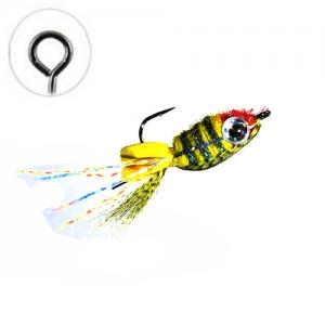 Floating Jig Perch Minnow Olive