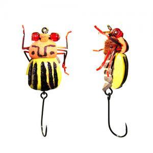 Воблер-Жук Beetle Potato Yellow