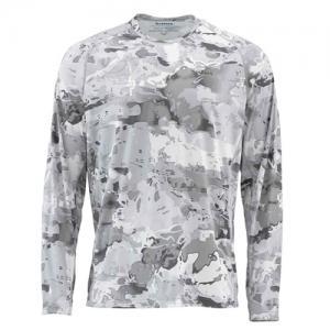 Блуза Simms SolarFlex Crewneck Prints Cloud Camo Grey L