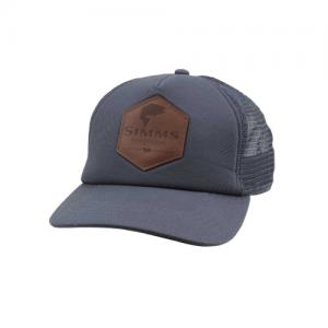 Кепка Simms Leather Patch Trucker Anvil
