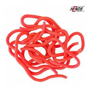 Материал для тела Hends Squirmy Worms - Lt. Red [Светло-красный]