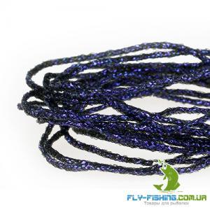 Винилриб плетеный SYBAI Pearl SolidRib - UV Black [Черный ультрафиолет]