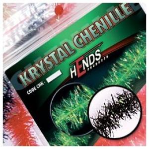Синель HENDS Krystal Chenille - Black [Черный]