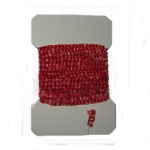 Синель WAPSI Variegated Chenille Medium - Red White [Красно-белый]