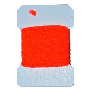 Синель WAPSI Wooly Bugger Chenille Medium - Fluo Fire Orange [Флуо огненно-оранжевый]