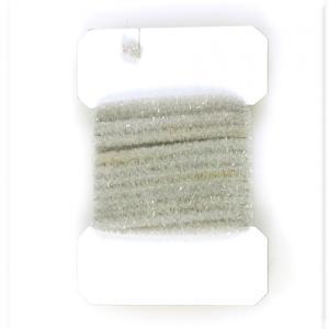 Синель WAPSI Wooly Bugger Chenille Small - Light Gray [Светло-серый]