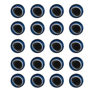 Глазки STRIKE 3D Holographic Eyes - Blue/Silver [Синий/Серебряный]