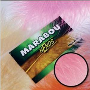 Перья марабу HENDS Marabou - Hot Pink (Ярко розовый)
