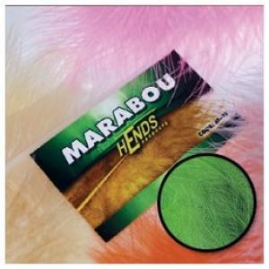 Перья марабу HENDS Marabou - Chartreuse [Салатовый]