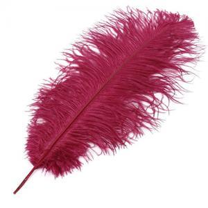 Перо страуса STRIKE Ostrich Feathers - Red [Красный]