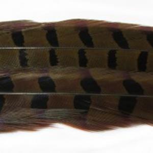 Перо фазана хвостовое HENDS Pheasant Tail - LT Olive [Светло-оливковый]