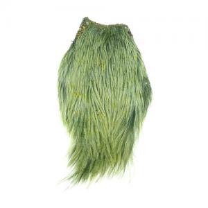 Скальп петуха STRIKE Cock Neck Dyed - Light Olive [Светло-оливковый]