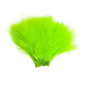 Перья марабу WAPSI Wolly Bugger Marabou - Fluo Chartreuse [Флуо-салатовый]