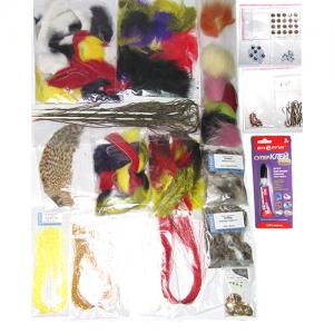 Набор материалов для вязания стримеров STRIKE