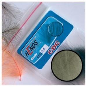 Перья утки HENDS CDC - Light Grey [Светло-серый]