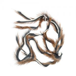 Полоски меха белки WAPSI Squirrel Zonkers - Natural [Натуральный]
