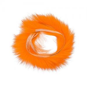 Полоски меха кролика HENDS Zonkers Strip Rabbit Fur - Fluo Orange (Флуо-оранжевий]