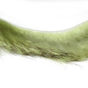 Полоски меха кролика продольные STRIKE Rabbit Strip - Grizzly Olive [Гризли-оливковый]