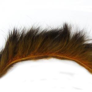 Полоски меха кролика продольные STRIKE Rabbit Strip - Orange Brown [Оранжево-коричневый]