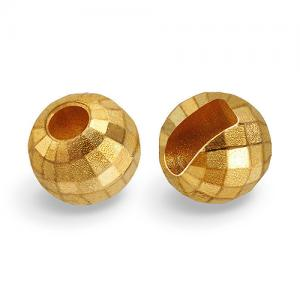 Вольфрамовые головки с вырезом граненые STRIKE Faceted Tungsten Heads - Gold [Золотой]
