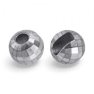Вольфрамовые головки с вырезом граненые STRIKE Faceted Tungsten Heads - Silver [Серебряный]