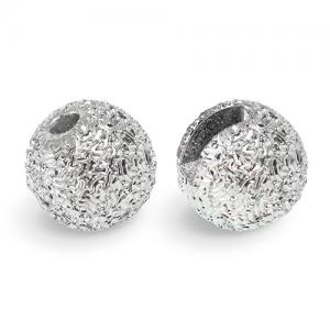 Вольфрамовые головки текстурные STRIKE Tungsten Slotted Bead Sunny  - Silver [Серебряный]
