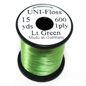 Шелк искусственный UNI Floss - Light Green [Светло-зеленый]