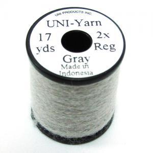 Пряжа шерстяная UNI Yarn - Gray [Серый]