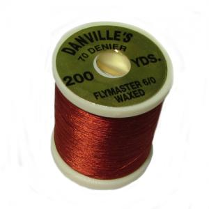 Монтажная нить DANVILLE Flymaster 6/0 Nylon Thread - Brown [Коричневый]