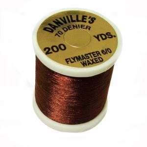 Монтажная нить DANVILLE Flymaster 6/0 Nylon Thread - Dark Brown [Темно-коричневый]