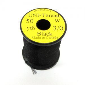 Монтажная нить UNI Thread 3/0 - Black [Черный]