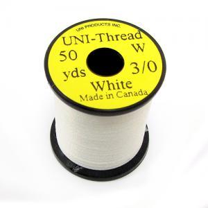 Монтажная нить UNI Thread 3/0 - White [Белый]