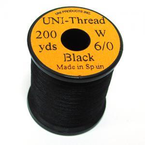 Монтажная нить UNI Thread 6/0 - Black [Черный]