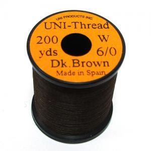 Монтажная нить UNI Thread 6/0 - Dark Brown [Темно-коричневый]