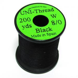 Монтажная нить UNI Thread 8/0 - Black [Черный]