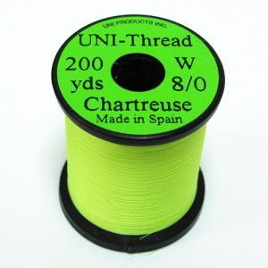Монтажная нить UNI Thread 8/0 - Chartreuse [Салатовый]