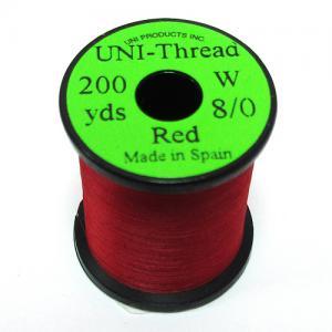 Монтажная нить UNI Thread 8/0 - Red [Красный]