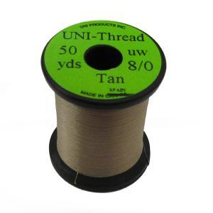 Монтажная нить UNI Thread 8/0 - Tan [Розовато-коричневый]