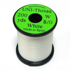 Монтажная нить UNI Thread 8/0 - White [Белый]