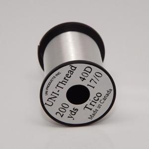 Монтажная нить UNI Thread Trico 17/0 - Silver [Серебряный]