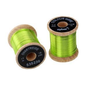 Проволока SYBAI Color Wire - Chartreuse [Салатовый]
