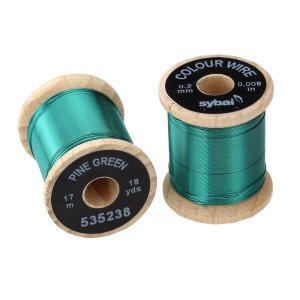 Проволока SYBAI Color Wire - Pine Green [Темно-зеленый]