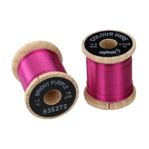 Проволока SYBAI Color Wire - Bright Purple [Ярко-пурпурный]