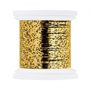 Плоский люрекс HENDS Flat Tinsel - Gold Grizzly [Золотой гризли]