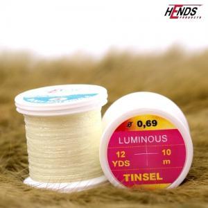 Плоский люрекс HENDS Luminous Tinsel - Light Yellow [Желтый]