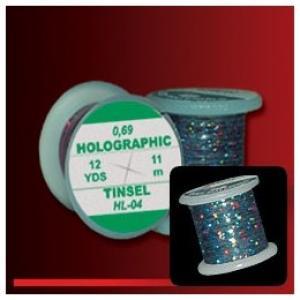 Плоский люрекс HENDS Holographic Tinsel - Black [Черный]