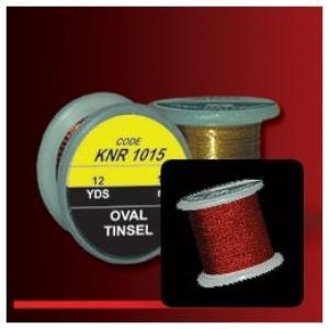 Овальный люрекс HENDS Oval Tinsel - Red [Красный]