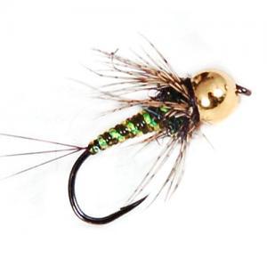 Нимфа с вольфрамовой головкой Tungsten Green Nymph